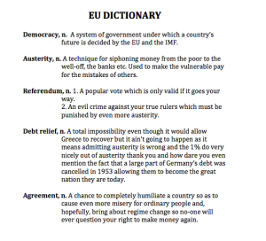 eu dictionary
