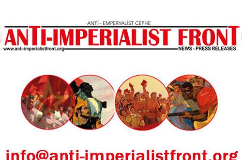 antiemperyalist cephe yürüyüş